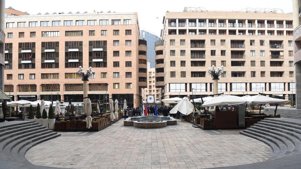North Avenue, Yerevan City, Armenia