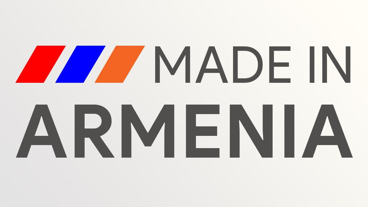 Made in Armenia • Արտադրված է Հայաստանում